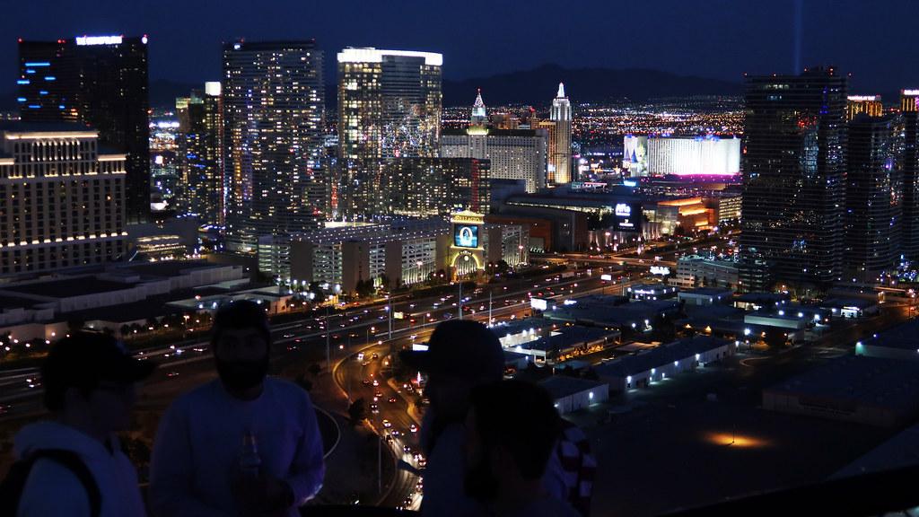 Las Vegas CityCenter at night