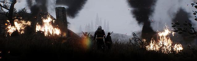 Skyrim | Burning