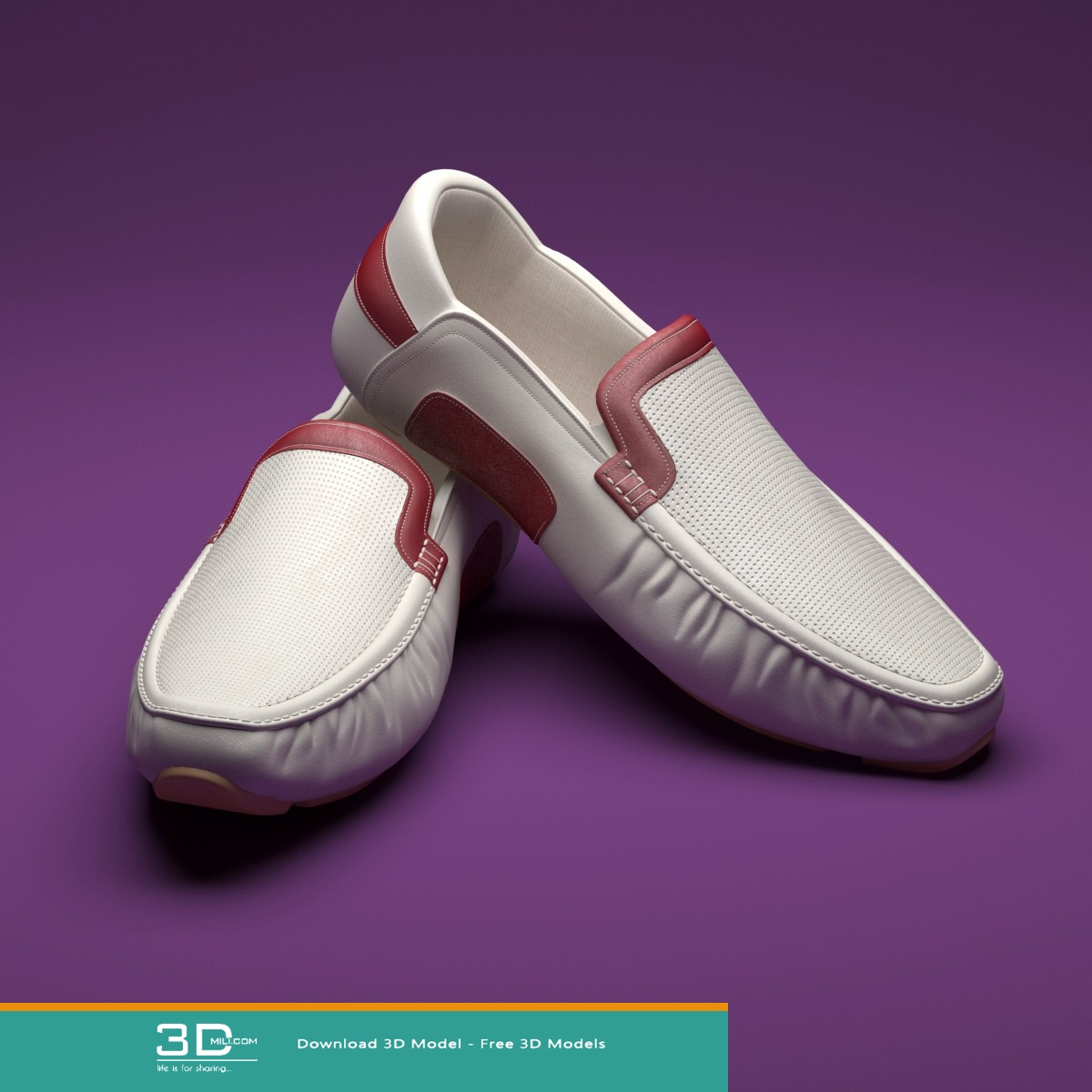 93  Shoes 3dmodel Free Download - 3D Mili - Download 3D