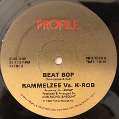 RAMELZEE VS. K-ROB:BEAT BOP(LABEL SIDE-A)