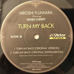 HIROSHI FUJIWARA:TURN MY BACK(LABEL SIDE-B)