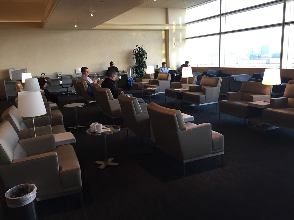 United Business Class Lounge