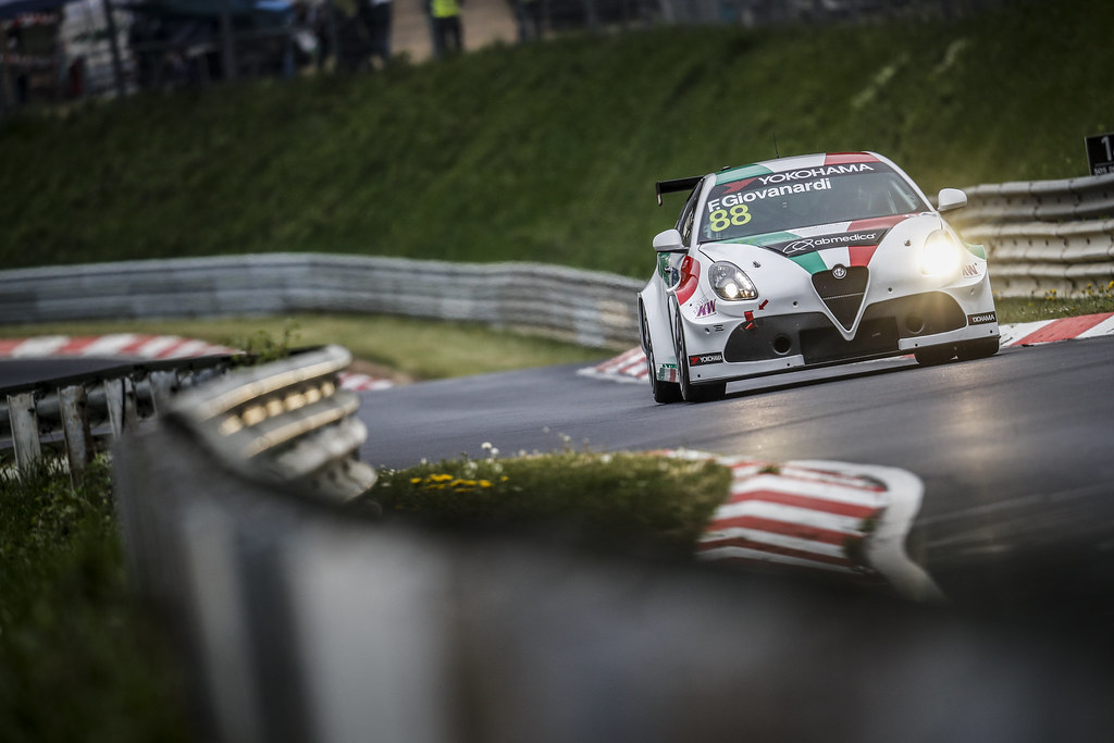 88 GIOVANARDI Fabrizio (ITA), Team Mulsanne, Alfa Romeo Giulietta TCR, action during the 2018 FIA WTCR World Touring Car cup of Nurburgring, Germany from May 10 to 12 - Photo Clement Marin / DPPI