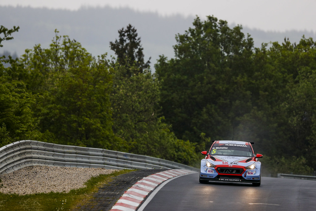 05 MICHELISZ Norbert (HUN), BRC Racing Team, Hyundai i30 N TCR, action during the 2018 FIA WTCR World Touring Car cup of Nurburgring, Germany from May 10 to 12 - Photo Florent Gooden / DPPI