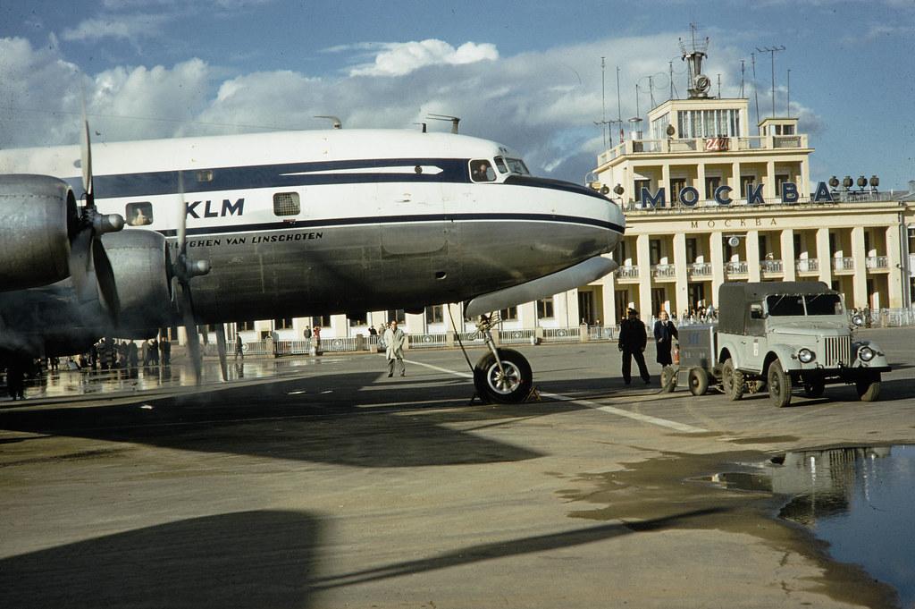 Москва. Здание аэропорта (5)