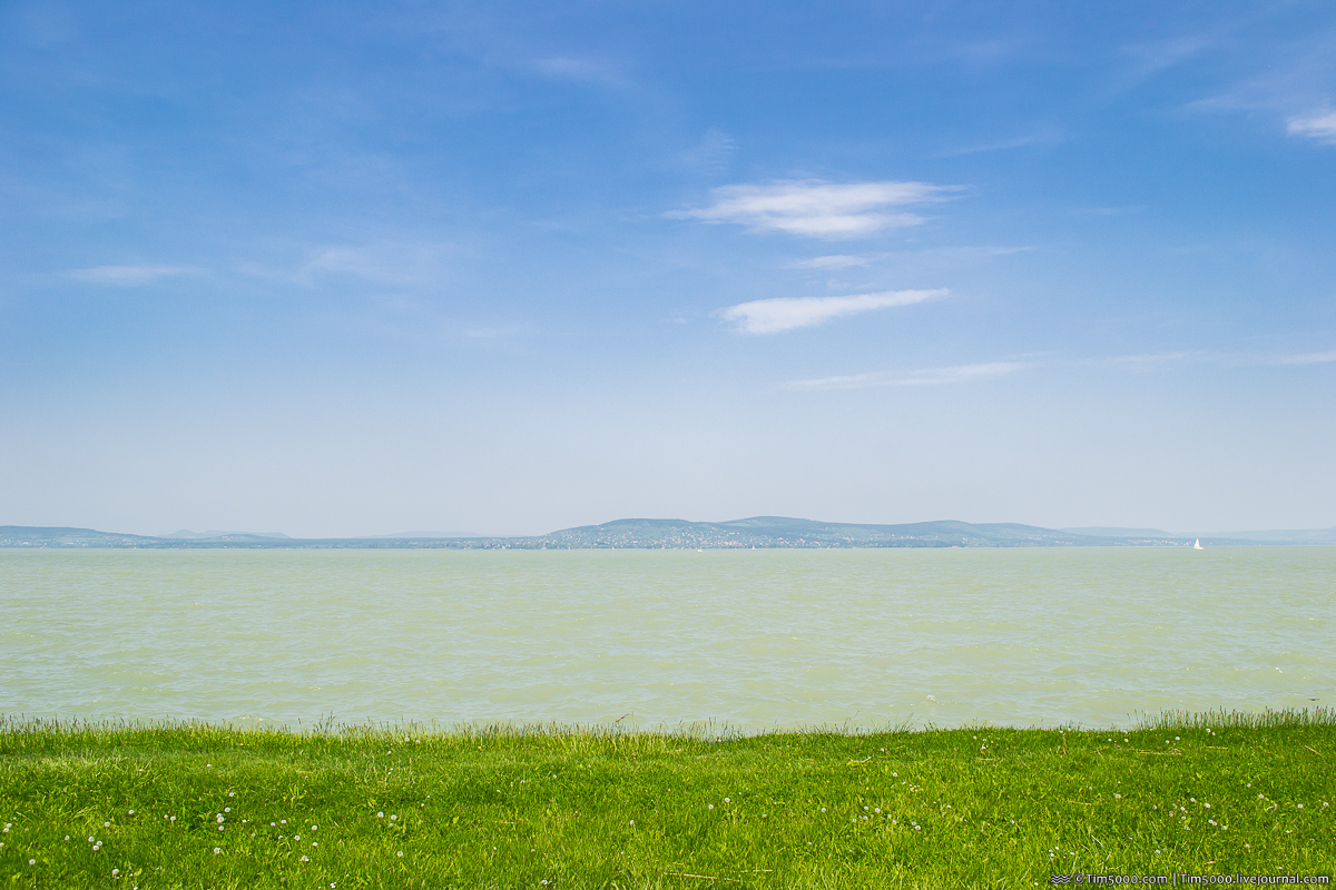 На автомобиле в Европу! Озеро Балатон, Венгрия