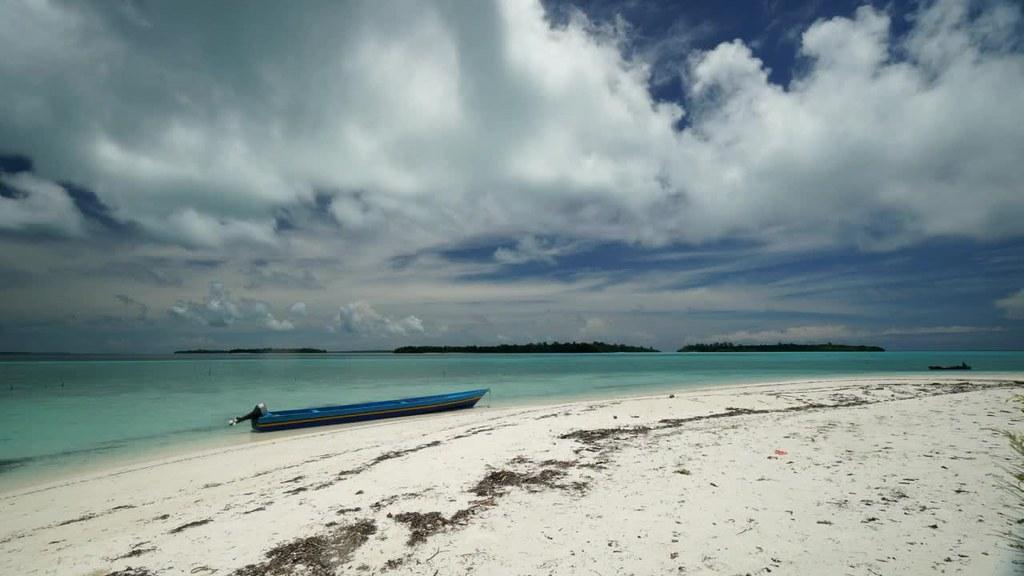 Timelapse of Nai Island Beach, Kei Kecil, Maluku