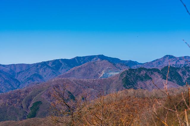 雲取山、芋木ノドッケ、天祖山、ウトウの頭@三ッドッケ