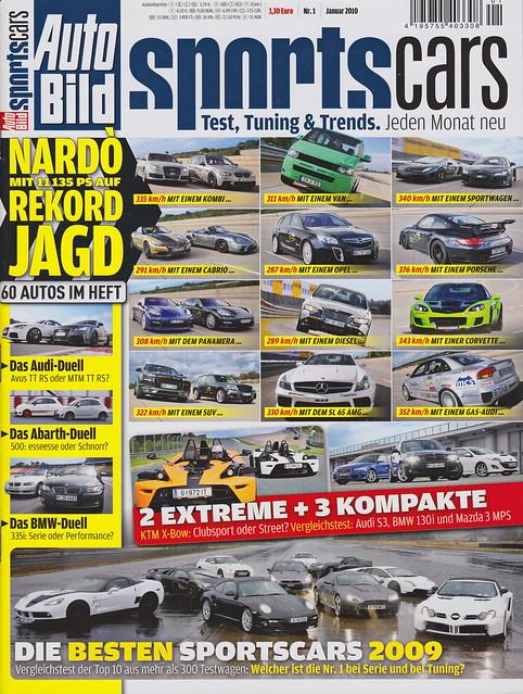 Auto Bild Sportscars 1/2010