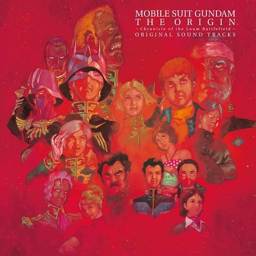"""Mobile Suit Gundam THE ORIGINAL Loum Hen """"ORIGINAL SOUND TRACKS"""