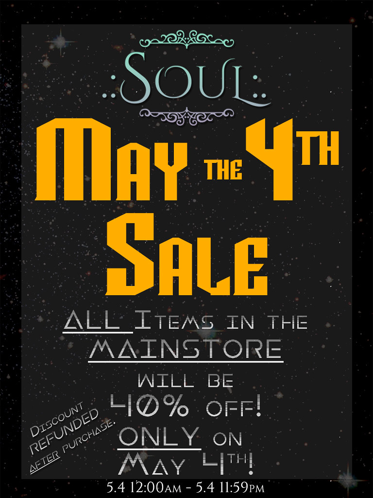 May the 4th Sale!