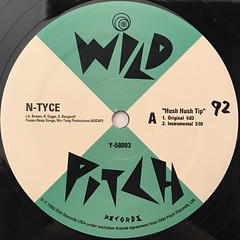 N-TYCE:HUSH HUSH TIP(LABEL SIDE-A)