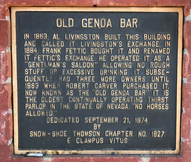 Old Genoa Bar