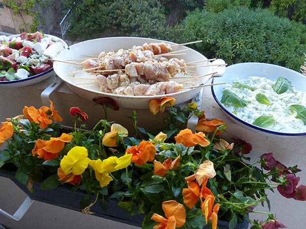 le dîner est prêt