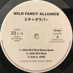 スチャダラパー:WILD FANCY ALLIANCE(LABEL SIDE-A)