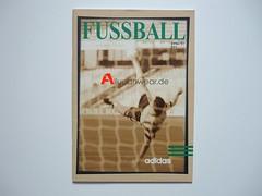 ADIDAS SOCCER CATALOGUE (FUSSBALL 1996/97)