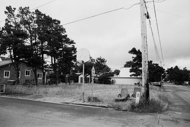 Street Corner- Seaside, OR