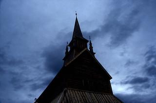 Norwegen 1998 (205) Stabkirche Kaupanger