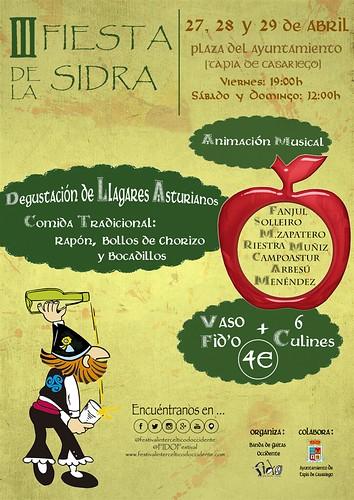 III Cider Festival in Tapia de Casariego