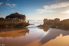 A beautiful sunset on the Great Ocean Road...