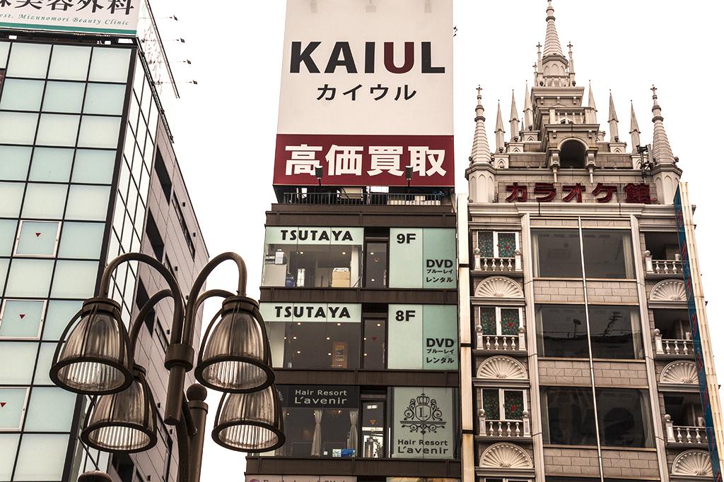 Shinjuku scene--Tokyo 2