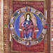 Christ enthroned, surrounded by the symbols of the four evangalists by petrus.agricola