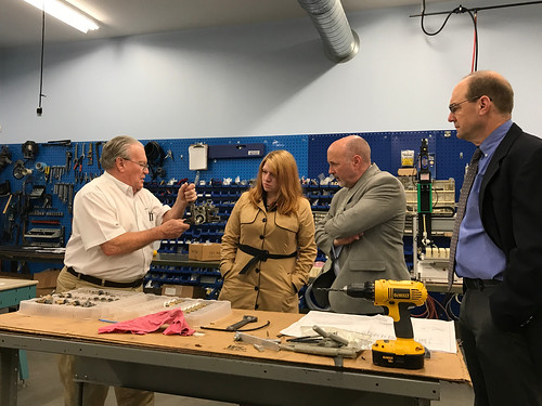 Mayor Madden visits HJM Precision 04-27-2018