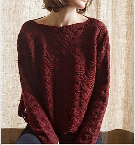 Harvest Sunset Oversized Sweater by Urth Yarns