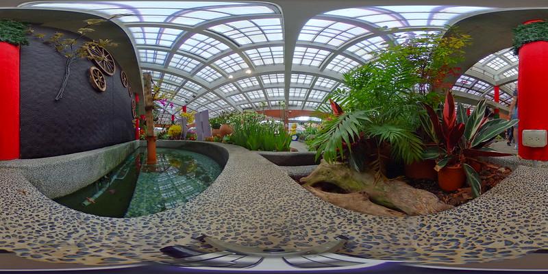 園藝展覽館前塘
