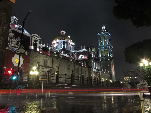My first #longexposure #picture #cathedral #Puebla #Mexico #exposed