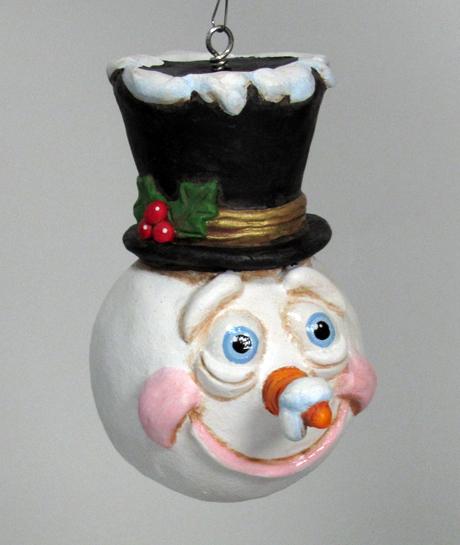 SnowmanHollyHatS