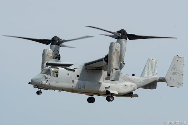 Iwakuni FD 2018 (155) VMM-262 MV-22B (Osprey) ET-04/168279