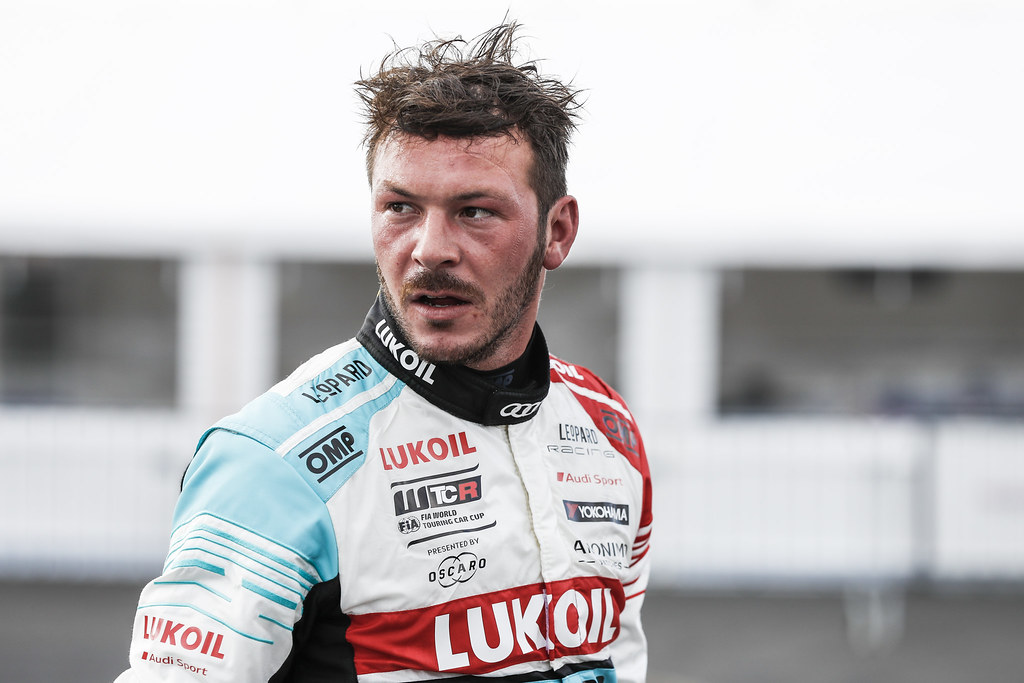 VERNAY Jean-Karl (FRA), Audi Sport Leopard Lukoil Team, Audi RS3 LMS, portrait during the 2018 FIA WTCR World Touring Car cup of Nurburgring, Nordschleife, Germany from May 10 to 12 - Photo Florent Gooden / DPPI