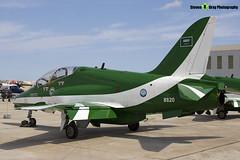 8820 - 6Y006 - Saudi Hawks - Royal Saudi Air Force - British Aerospace Hawk 65A - Luqa Malta 2017 - 170923 - Steven Gray - IMG_0075