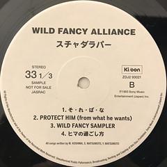 スチャダラパー:WILD FANCY ALLIANCE(LABEL SIDE-B)
