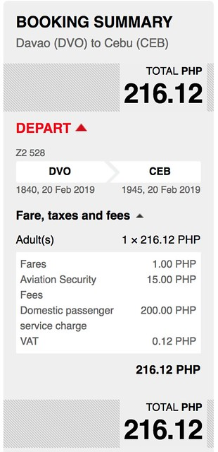 Davao to Cebu AirAsia Red Hot Sale