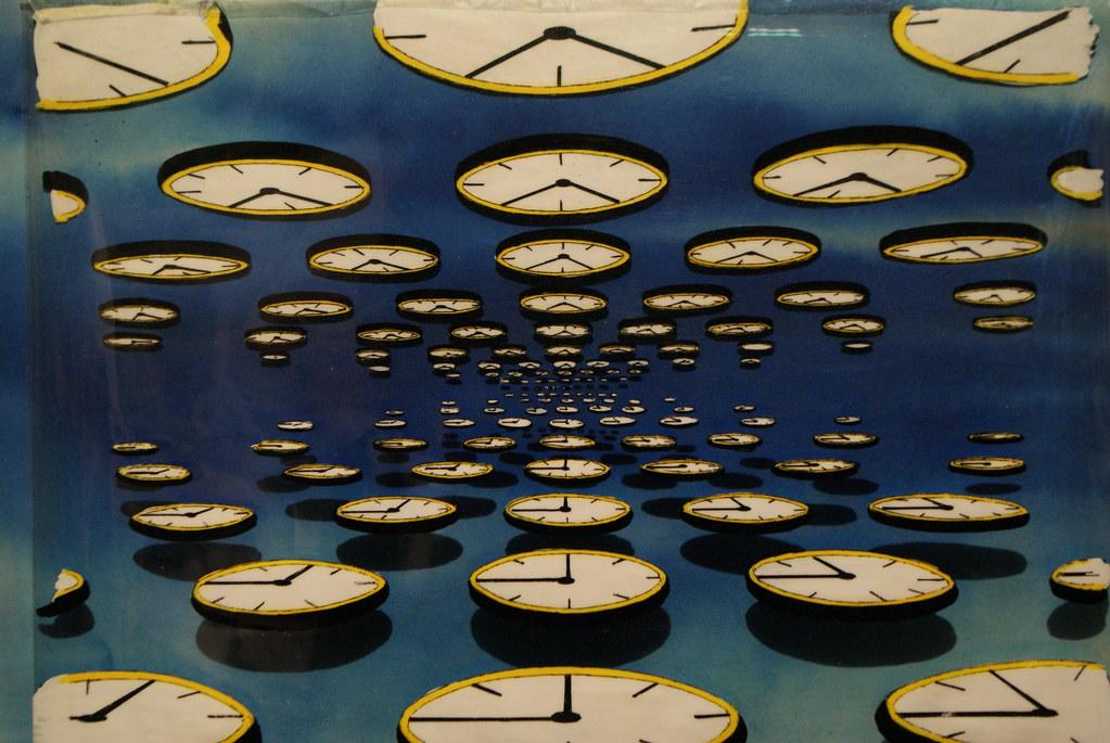 """> Expo Pink Floyd au Macro de Rome : Extrait du videoclip """"Time""""."""