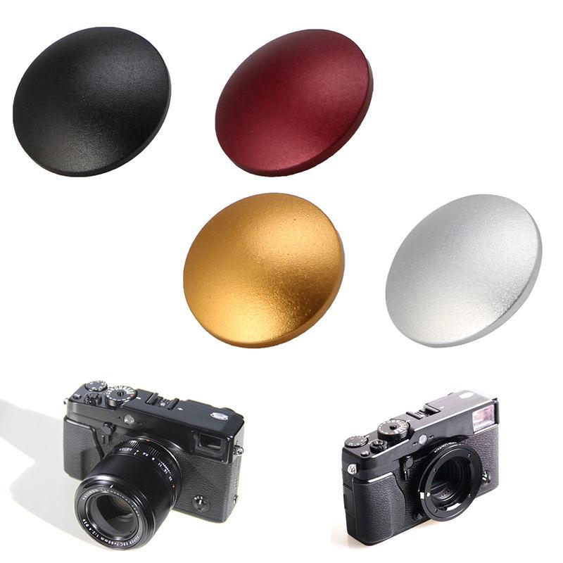 01 Nút bấm nhôm LỒI cho máy ảnh Fujifilm XT10 XT20 X30, Leica, Máy ảnh phim