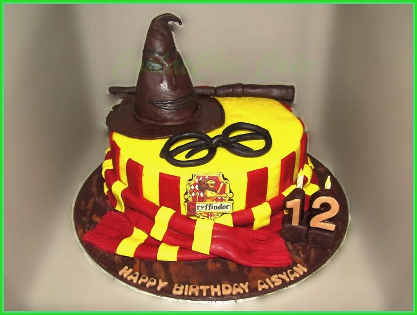 Cake Harry Potter AISYAH 20 cm