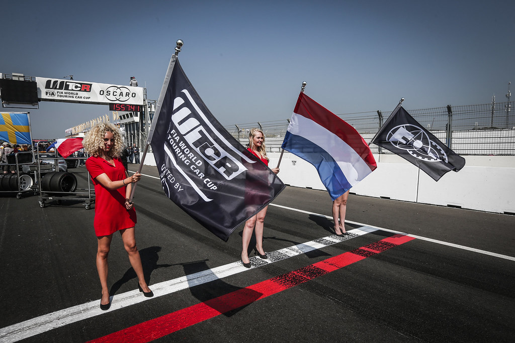 AMBIANCE FLAG GRID atmosphere during the 2018 FIA WTCR World Touring Car cup of Zandvoort, Netherlands from May 19 to 21 - Photo Jean Michel Le Meur / DPPI