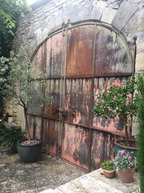 Entry-door to our garden