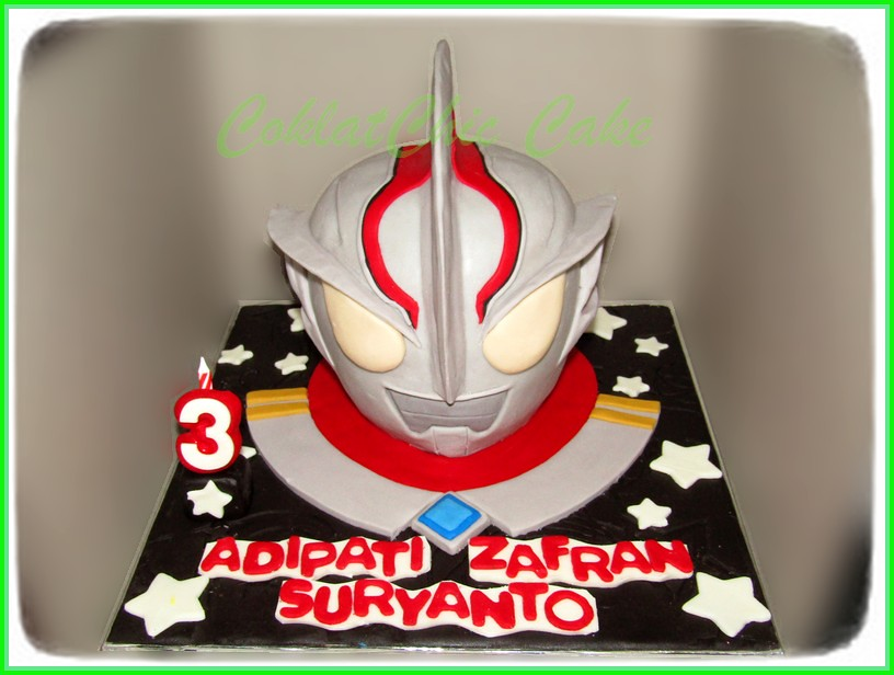 Cake Ultraman ADIPATI ZAFRAN 15 cm
