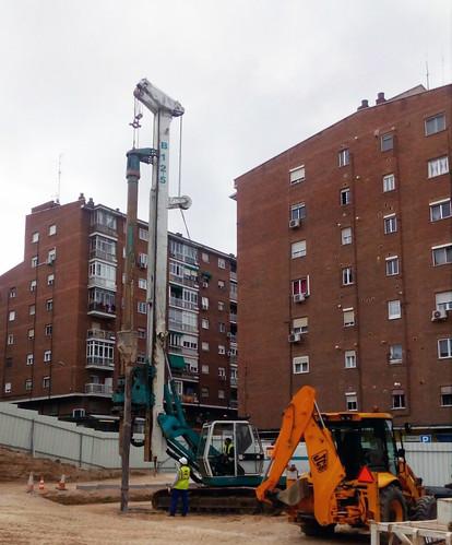 La Consejera de Transportes de Madrid visita las obras de la estación de metro 'Barrio de la Concepción', en ejecución por COMSA