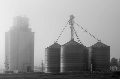 Grain Elevator Fog - Bennett, CO