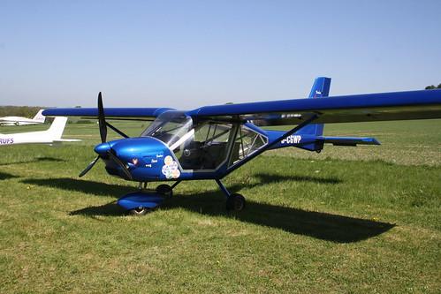 G-CGWP Aeroprakt A.22L [LAA 317A-15070] Popham 050518