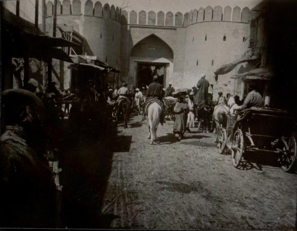 Бухара. Часть 9. 1905. Город и люди на снимках Леона Бло