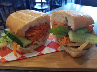 Tofu Bahn Mi at Eat Mii