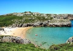 Playa San Antonio. Asturias