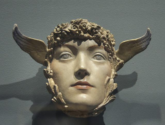A Mask, Fernand Khnopff, c.1897