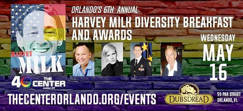 The 6th Annual Harvey Milk Diversity Breakfast and Awards